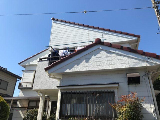 埼玉 破風板金 漆喰 工事