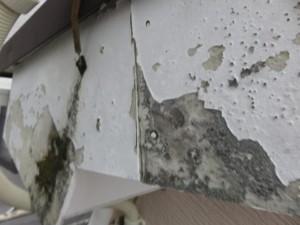 川越市 破風板 板金 補修