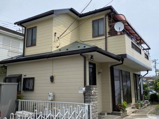 外壁屋根塗装 東松山市