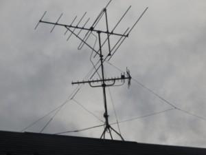 さいたま市 破風 アンテナ撤去