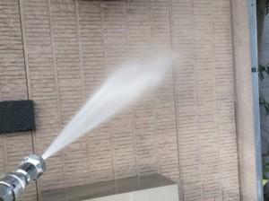 外壁塗装 手順 高圧洗浄