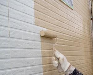 外壁塗装 手順 上塗り