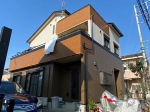 埼玉県東松山市 外壁屋根塗装 フッ素