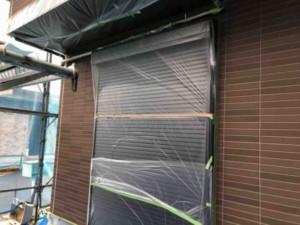屋根塗装 工程 養生