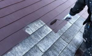 屋根塗装 工程 塗り