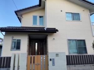 埼玉県行田市 外壁塗装 フッ素 クリヤー