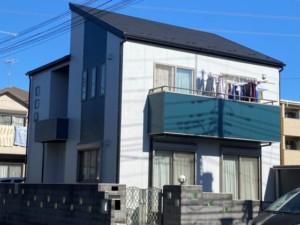 埼玉県行田市 外壁塗装 雨樋交換 屋根上葺