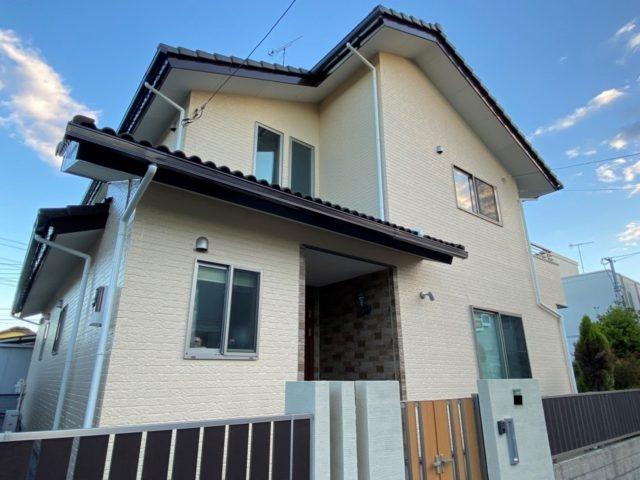 埼玉県行田市 外壁塗装 フッ素塗料