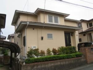 埼玉県東松山市 屋根塗装 シリコン
