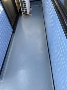埼玉県深谷市 ベランダ防水 外壁塗装