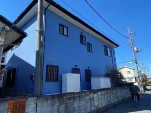 埼玉県深谷市 外壁塗装 フッ素 雨樋交換
