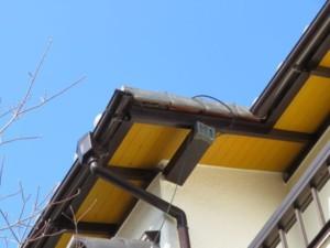 埼玉県蓮田市 外壁塗装 軒天井補修