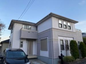 埼玉県行田市 外壁塗装 屋根上葺き