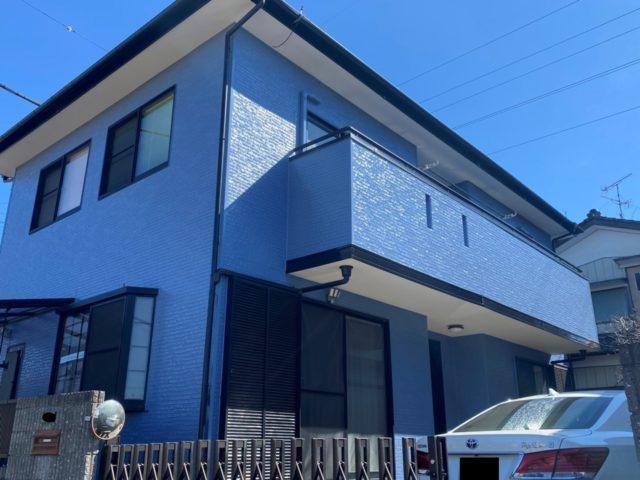 埼玉県深谷市 外壁塗装 屋根上葺き フッ素