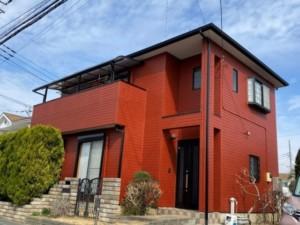 埼玉県羽生市 外壁屋根塗装 雨樋交換
