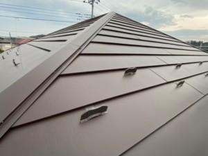 埼玉県行田市 屋根上葺き カバー工法