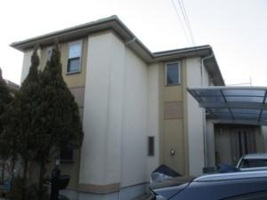 埼玉県東松山市 外壁塗装 屋根上葺き