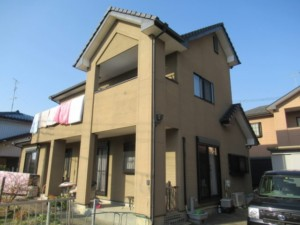 埼玉県東松山市 外壁塗装 漆喰詰め直し