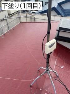 埼玉県深谷市 屋根塗装 フッ素