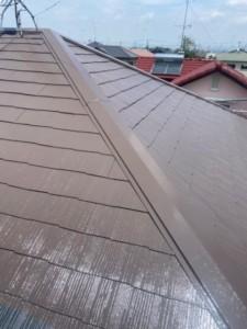 埼玉県熊谷市 屋根塗装 フッ素