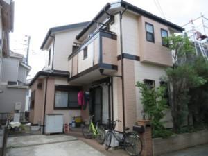 埼玉県鴻巣市 外壁塗装 屋根上葺き