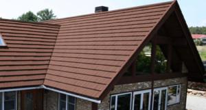 屋根塗装 ブラウン