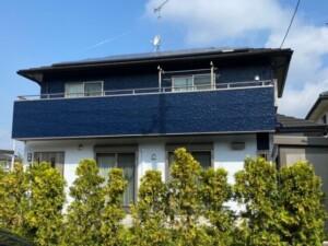 埼玉県熊谷市 外壁塗装フッ素